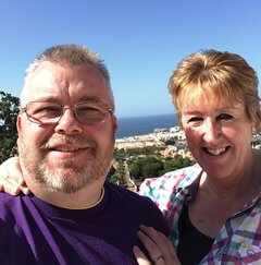 Ed and Julie, our franchise business owners in NW Leicestershire