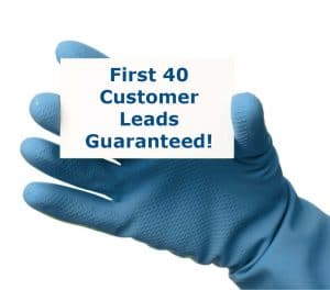 we provide your first 40 customer leads